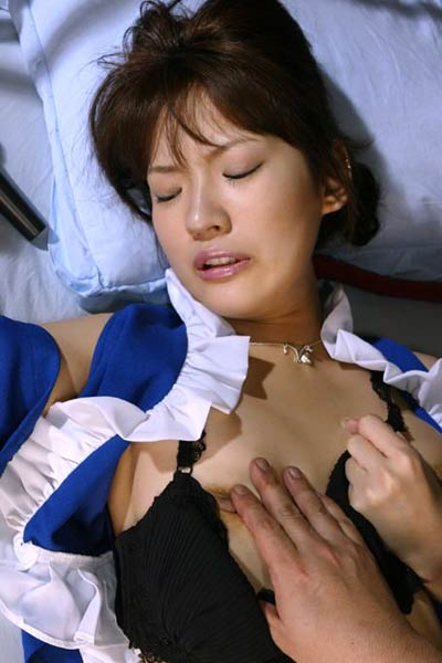 Model Asakura in Asian slut Asakura
