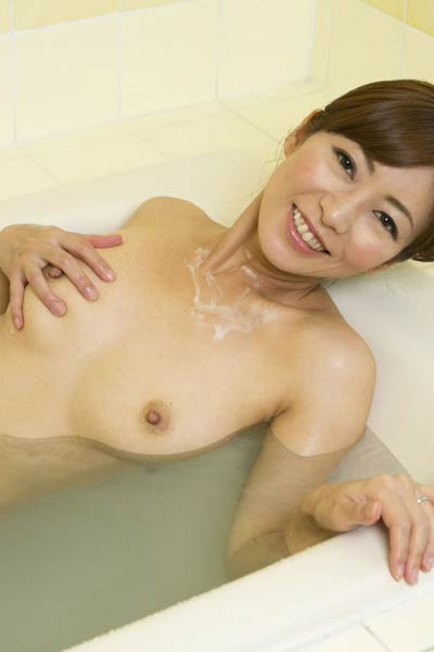 Model Ryo Hitomi in Just Suds And Us