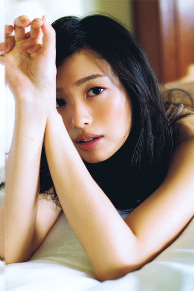 Model Kitahara Rie in This Is My First